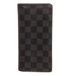 Louis Vuitton Damier Graphite Canvas Leather Brazza Wallet