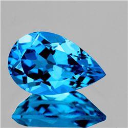 NATURAL AAA SWISS BLUE TOPAZ 16.5 9.5 MM - FL