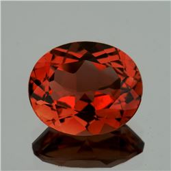 Natural Champagne Imperial Topaz 12x10 MM - FLawless