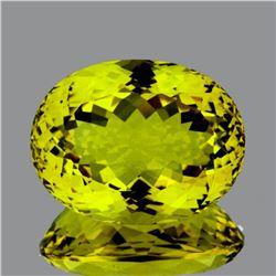 Natural Green Gold Lemon Quartz 53.60 Cts - FL