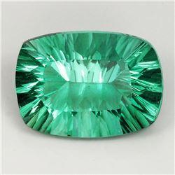Natural AAA Paraiba Green Blue Fluorite 20x15 MM - IF