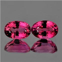 Natural Pink Tourmaline Pair 6x4 MM - VVS