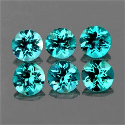 Natural  Brazil Greenish Blue Apatite 4.30 MM -VVS1
