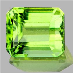 Natural Canary Green Apatite 3.13 Ct - VVS