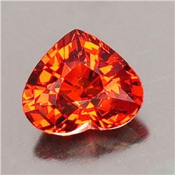 Natural Orange Spessartite 1.57 ct - VVS