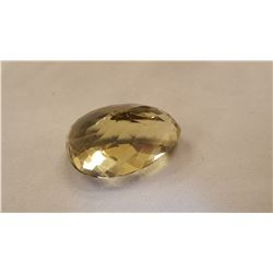 GORGEOUS HUGE 127.50 CT UNHEATED LEMON CITRINE