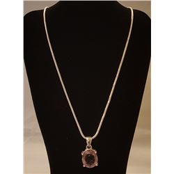 GORGEOUS 100 % NATURAL 10.5 CT AMETRINE PENDANT.