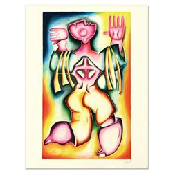 """Alexandra Nechita, """"Live and Let Live"""" Limited Edition Lithograph, Numbered and Hand Signed."""