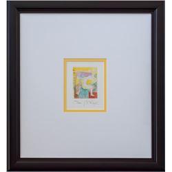 "Peter Max- Original Lithograph ""Heart Series II"""