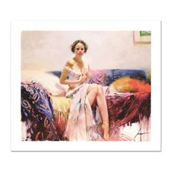 """Pino (1931-2010), """"Sweet Sensation"""" Limited Edition on Canvas, Numbered and Hand Signed with Certifi"""