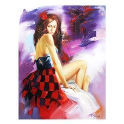 """Taras Sidan- Original Oil on Canvas """"Broken Inside"""""""