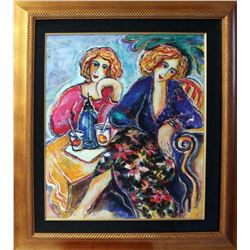 Zamy Steynovitz- Original Oil on Canvas