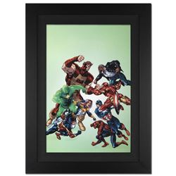 """New Thunderbolts #3"" Extremely Limited Edition Giclee on Canvas by Tom Grummett and Marvel Comics,"