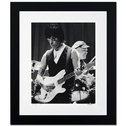 """Jeff Beck"" Limited Edition Giclee by Rob Shanahan, Numbered and Hand Signed with Certificate of Aut"