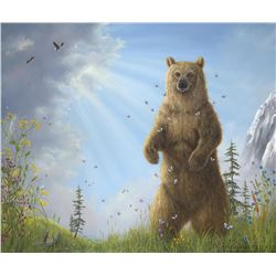 "Robert Bissell ""Majesty"" Giclee on Canvas"