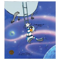 """Looney Landing"" by Chuck Jones (1912-2002). Limited Edition Animation Cel with Hand Painted Color."