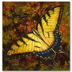 """Nectar"" Limited Edition Giclee on Canvas by Simon Bull, Numbered and Signed with Certificate of Aut"