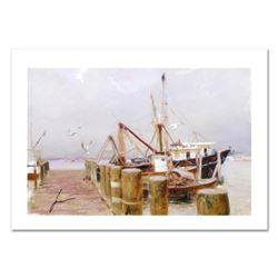 "Pino (1939-2010) ""Safe Harbor"" Limited Edition Giclee. Numbered and Hand Signed; Certificate of Auth"