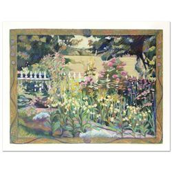"Nina Weiss, ""English Garden"" Limited Edition Serigraph, Numbered and Hand Signed with Certificate of"