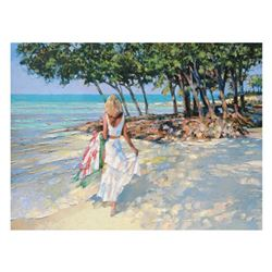 "Howard Behrens (1933-2014), ""My Beloved"" Limited Edition on Canvas, Numbered and Signed with Certifi"