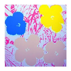 "Andy Warhol ""Flowers 11.70"" Silk Screen Print from Sunday B Morning."