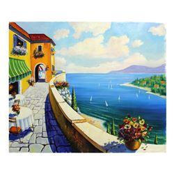 "Alexander Borewko- Original Oil on Canvas ""This Is Freedom"""