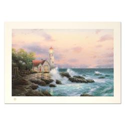"""Thomas Kinkade (1958-2012), """"Beacon of Hope"""" Limited Edition Offset Lithograph, Numbered 2697/2750 a"""