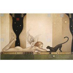 "Michael Parkes ""See No Evil"" Masterworks on Canvas"