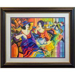 "Patricia Govezensky- Original Watercolor ""New York-New York"""