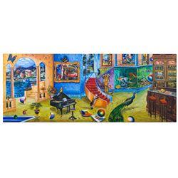 "Alexander Astahov- Original Giclee on Canvas ""Beautiful Mess"""