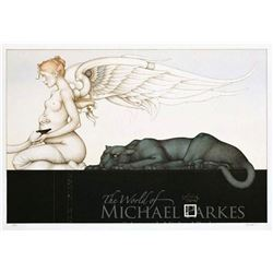"""Michael Parkes """"Waiting"""" Original Hand Pulled Stone Lithographs"""