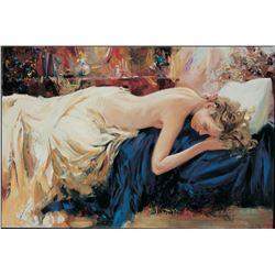 "Igor Semeko- Original Giclee on Canvas ""Sleeping """