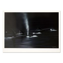 """Wyland, """"Ancient Orca Seas"""" Limited Edition Lithograph, Numbered and Hand Signed with Certificate of"""