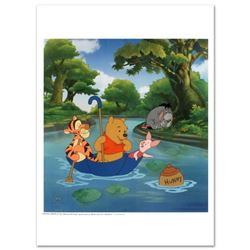 """Disney """"Pooh's Honey Hunt"""" Limited Edition Sericel with Certificate of Authenticity."""