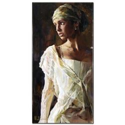 """""""Gentle Light"""" Limited Edition Hand Embellished Giclee on Canvas by Mikhail and Inessa Garmash, Numb"""