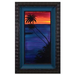 """Wyland, """"Paradise Found #13"""" Framed Original Oil Painting on Canvas, Hand Signed with Certificate of"""