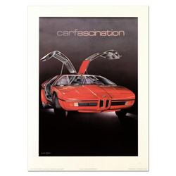 """Wolfgang Kuzel, """"Cartascination"""" Limited Edition Lithograph from a PP Edition, Hand Signed with Lett"""