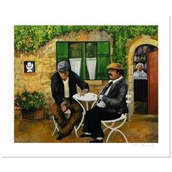 """Guy Buffet - """"After Dinner Drink"""" Limited Edition Serigraph; Numbered and Hand Signed with Certifica"""