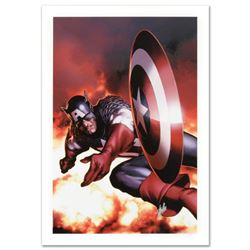 """""""Captain America #2"""" Limited Edition Giclee on Canvas by Steve McNiven and Marvel Comics, Numbered a"""