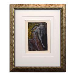 "Salvador Dali- Original Color Woodcut on B.F.K. Rives Paper ""Hell Canto 9"""