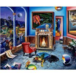 """Alexander Astahov- Original Giclee on Canvas """"Masterpiece"""""""