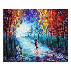 "Svyatoslav Shyrochuk- Original Oil on Canvas ""Holiday"""