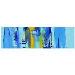 """Roberto Donatelli - """"Transparent"""" Original Oil Painting on Canvas, Titled Inverso and Hand Signed wi"""