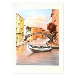"Victor Zarou, ""Camargue"" Limited Edition Lithograph, Numbered and Hand Signed."