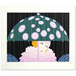 "Erte (1892-1990), ""Spring Showers"" Limited Edition Serigraph, Numbered and Hand Signed with Certific"