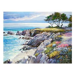 "Howard Behrens (1933-2014), ""Monterey Bay, After The Rain"" Limited Edition on Canvas, Numbered and S"