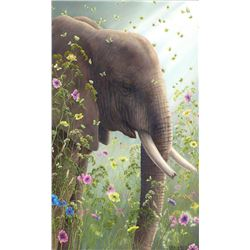 "Robert Bissell ""Presence I"" Giclee on Canvas"