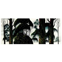 "Eyvind Earle (1916-2000), ""Forest Magic"" Limited Edition Serigraph on Paper; Numbered & Hand Signed;"