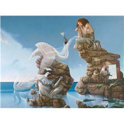 "Michael Parkes ""Swan Lake"" Masterworks on Canvas"