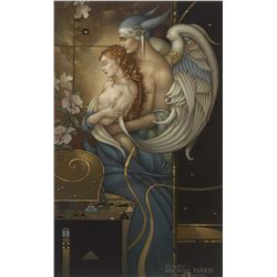"Michael Parkes ""Deva's Garden"" Masterworks on Canvas"
